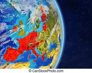 Eurozone member states on planet Earth - Eurozone member ...