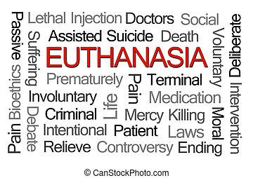 Euthanasia Word Cloud