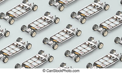 """""""EV battery pack, assembly"""""""