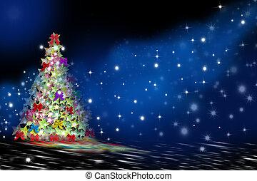 eva, kerstmis, groet