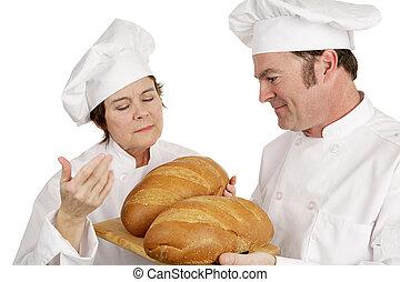 evaluación, escuela, -, chef