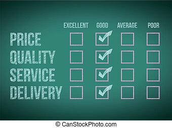 evaluate customer survey form