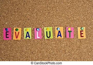 Evaluate word