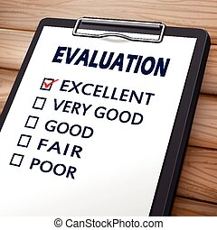 evaluation clipboard illustration