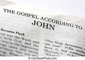 evangelie, john