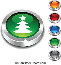 . Eve 3d button set. Vector illustration.