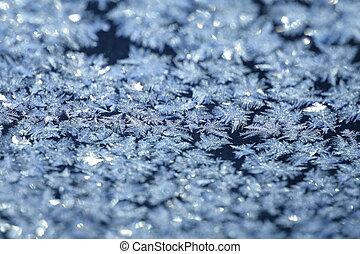 Evening Blue Frost Pattern - evening blue frost pattern ...