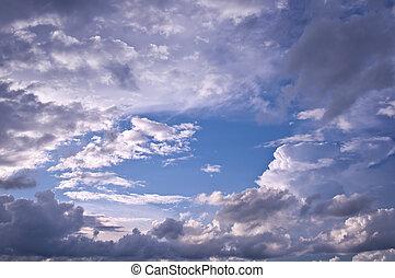 Evening cloudscape.