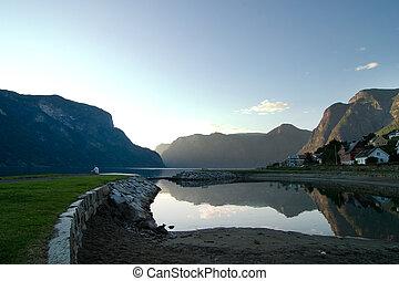 Evening Fjord