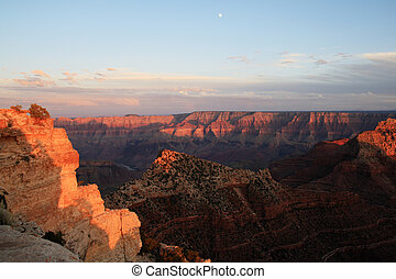 evening grand canyon