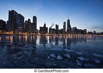 Evening in Chicago, Gold Coast