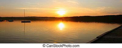 evening lake - panor