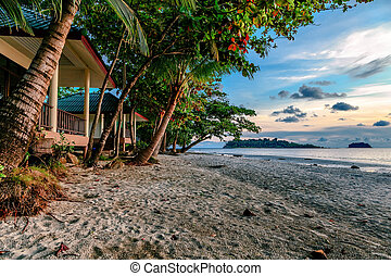 Evening on the island of Koh Chang.