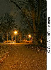 Evening Park.