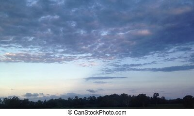 Evening scenery of Queensland Aus - Evening scenery from...