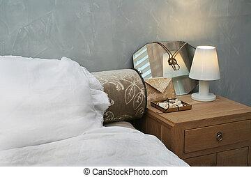 evening sleeping-room