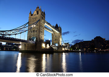 Evening Tower Bridge, London, UK