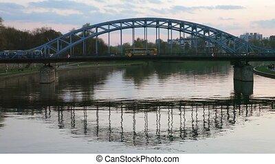 Evening view of the bridge