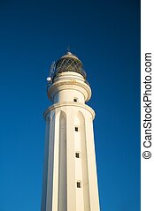 evening white lighthouse