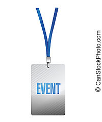 event pass illustration design