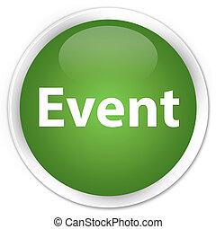 Event premium soft green round button