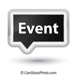Event prime black banner button