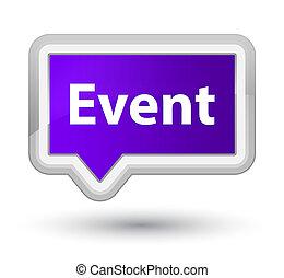 Event prime purple banner button