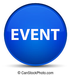 Event special blue round button