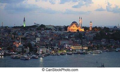 Eventide in Istanbul