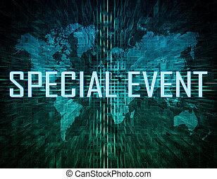 evento, especiais