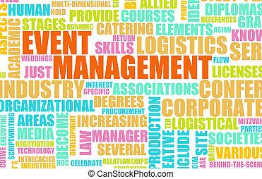 evento, gerência