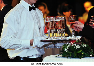 evento, partido, coctail, banquete, catering