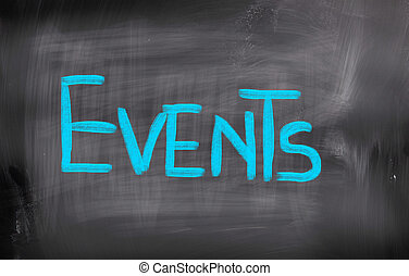 eventos, conceito