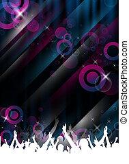 event/party, schablone