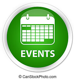 Events (calendar icon) premium green round button