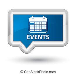 Events (calendar icon) prime blue banner button
