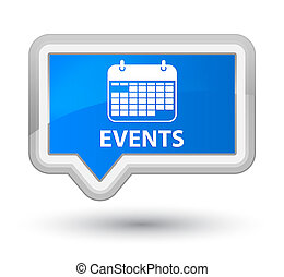 Events (calendar icon) prime cyan blue banner button