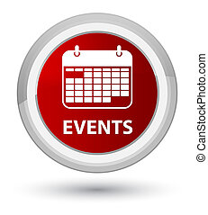 Events (calendar icon) prime red round button