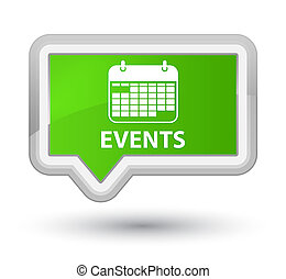 Events (calendar icon) prime soft green banner button