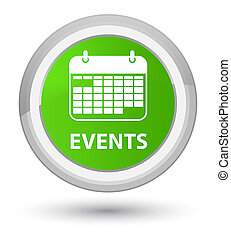 Events (calendar icon) prime soft green round button