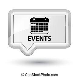 Events (calendar icon) prime white banner button