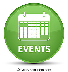 Events (calendar icon) special soft green round button