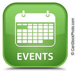 Events (calendar icon) special soft green square button