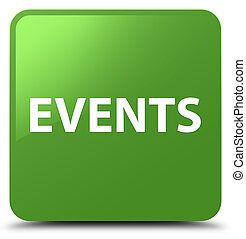 Events soft green square button