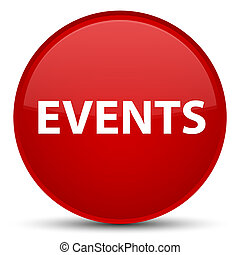 Events special red round button