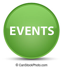 Events special soft green round button