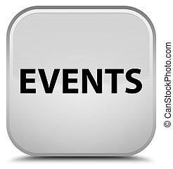 Events special white square button