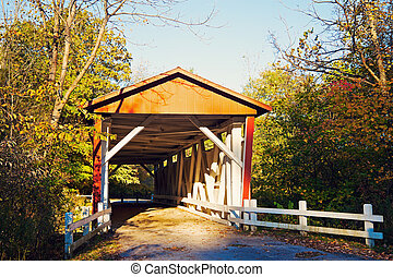 Everett Road Covered Bridge - Everett Road Covered Bridge -...
