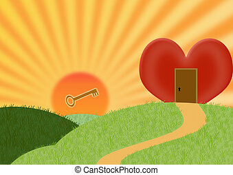every heart can be opened,....