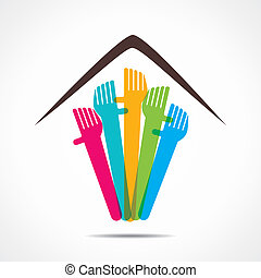 every one required home icon  stock vector